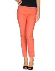 Ql2 Quelledue Casual Pants Coral