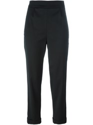 Osman 'Taylor' Cropped Trousers Black