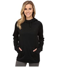 Nike All Time Pullover Hoodie Black Black Black Women's Long Sleeve Pullover