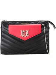 Love Moschino Quilted Clutch Black