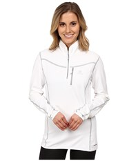 Salomon Atlantis Half Zip White Women's Clothing
