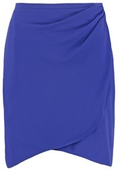 Naf Naf Mini Skirt Cobalt Blue