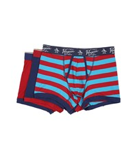 Original Penguin 3 Pack Trunk Biking Red Medieval Blue Biking Red Rugby Medieval Blue Biking R Men's Underwear Multi