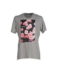 Pagano Topwear T Shirts Men Grey