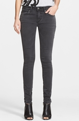 Burberry Skinny Jeans Black Mid Grey