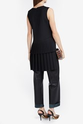 Adam By Adam Lippes Women S Pleat Back Tunic Boutique1 Black