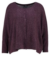 Opus Satima Cardigan Dark Port Bordeaux