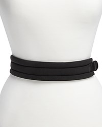 Dkny Soft Padded Belt Black