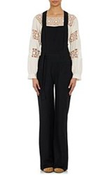 Ulla Johnson Overall Suvi Jumpsuit Black
