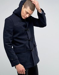 French Connection Duffle Coat Navy