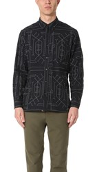 Billy Reid Tuscumbia Shirt Black