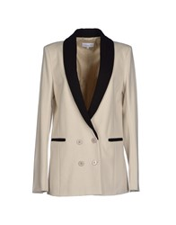 Patrizia Pepe Suits And Jackets Blazers Women Ivory