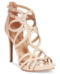 Report Triton Caged Dress Sandals Women's Shoes Nude