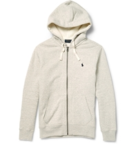 Polo Ralph Lauren Cotton Blend Hoodie Gray
