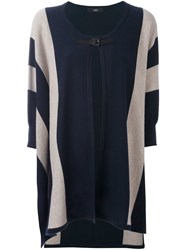 Steffen Schraut Striped Tunic Blue