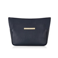 Catherine And Jean Catherine Clutch In Navy Classic Blue
