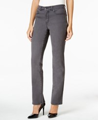 Charter Club Lexington Straight Leg Jeans Only At Macy's Slate Grey