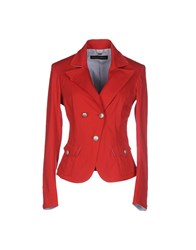 Massimo Rebecchi Suits And Jackets Blazers Women Red