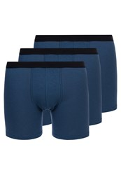 Sloggi Travel 3 Pack Shorts Smoky Blue Dark Blue