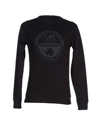 Napapijri Topwear Sweatshirts Men Black