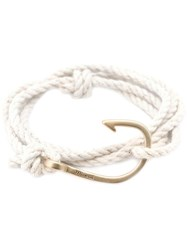 Miansai Hook Wrap Bracelet White