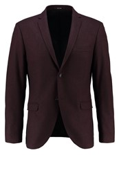 Tiger Of Sweden Jil Suit Jacket Bordeaux
