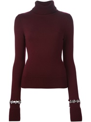 Philipp Plein 'Producer' Sweater Red