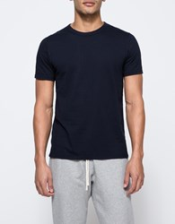 Reigning Champ S S Set In Tee Heather Grey
