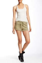 L.A.M.B. French Terry Short Brown