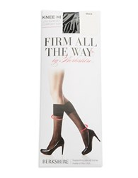 Berkshire Firm All The Way Knee Highs Black