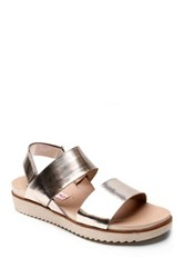 Two Lips Too Kaylee Flatform Sandal Gray