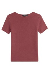 Theory Cashmere Top Red