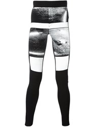 Julius Printed Leggings Black