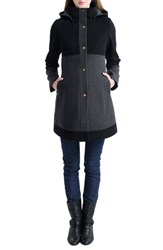 Kimi And Kai Women's 'Tessa' Colorblock Maternity Coat