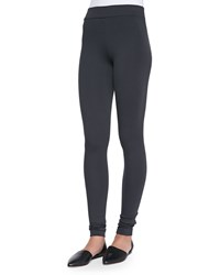 Vince Scrunch Ankle Leggings Charcoal Grey