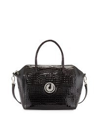 Charles Jourdan Nicky Leather Tote Bag Black