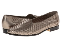 Trotters Liz Pewter Calf Women's Shoes