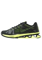 Nike Performance Reax Lightspeed Sports Shoes Black Volt