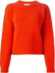 Vivetta 'Deledda' Sweater Yellow And Orange