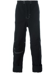 Y 3 Drawstring Pants Black