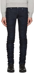 Diesel Black Gold Blue Super Long Jeans