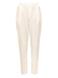 Baja East Broadcloth Silk Trousers