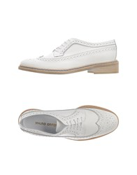 Mauro Grifoni Footwear Lace Up Shoes Women White