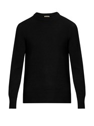 Bottega Veneta Crew Neck Cashmere Sweater Black