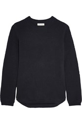 Chinti And Parker Cashmere Sweater Midnight Blue