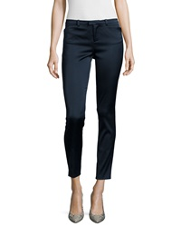 Atm Slim Straight Leg Cropped Pants