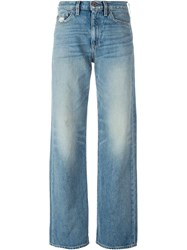 Simon Miller Wide Leg Jeans Blue