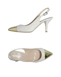 Parentesi Slingbacks Ivory