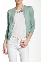 J.Crew Factory Clare Cardigan Green