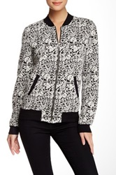 Michael Stars Printed Bomber Jacket Multi